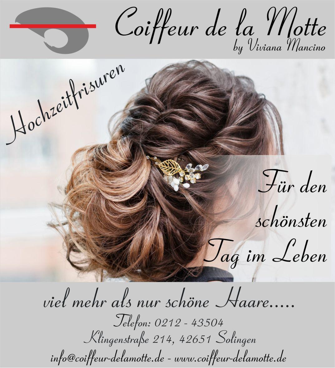 Hochzeitfrisurem vom Ihrem Friseur aus Solingen